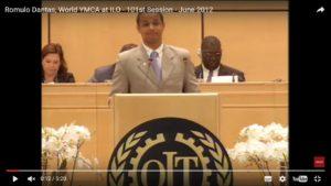 Intervention Romulo Dantas à l'Organisation International du Travail