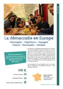 Séjours Jeunes : Démocratie en Europe