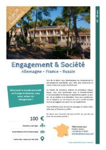Séjours Jeunes : Engagement & société