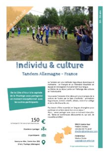 Séjours Jeunes : Individu & culture