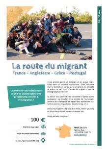 Séjours Jeunes : La route du migrant