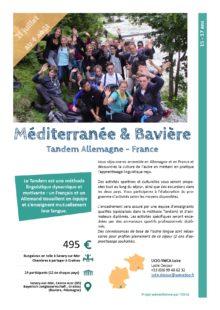 Séjours Jeunes : Mediterranée & Bavière