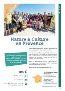 Sejours jeunes: nature & Culture en Provence