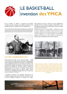 Invention du basket-ball par les YMCA