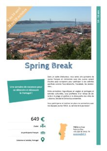 Séjours Jeunes : Spring Break