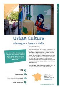SéjoursJeunes : Urban Culture