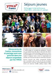 Flyer Séjours jeunes 2017