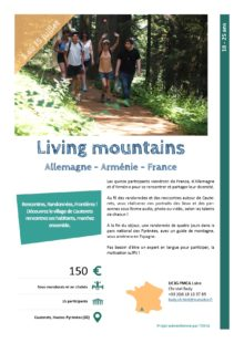 Séjours Jeunes  : YMCA Living mountains