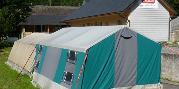 Le Cluquet Tente et marabout