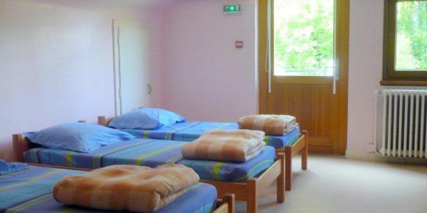 Centre de séjours Salm dortoir