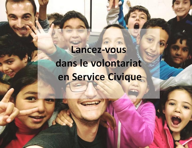 Lancez-vous dans le volontariat en Service Civique