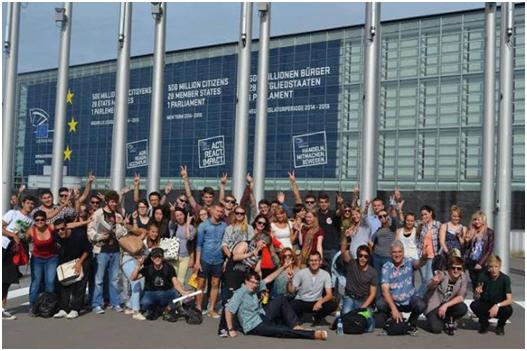 Séjour jeunes: 5 nationalités réunies à Salm