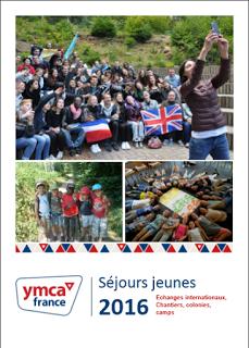 Brochure Séjours jeunes 2016