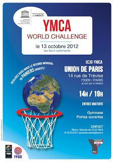Le YMCA World Challenge 2012 : record mondial de paniers shootés