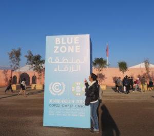 Participation de Laura Scellin à la COP 22 Participation de Laura Scellin à la COP 22