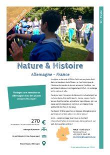 Séjours Jeunes : Nature & Histoire