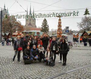 Séjours Jeunes YMCA en novembre 2016 à Erfurt