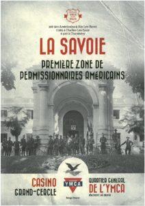 Leave area YMCA à Aix-les-Bains en 1918