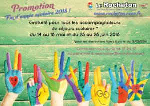 Séjours en promotion au Rocheton
