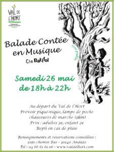 Balade contée en musique au Val de l'Hort
