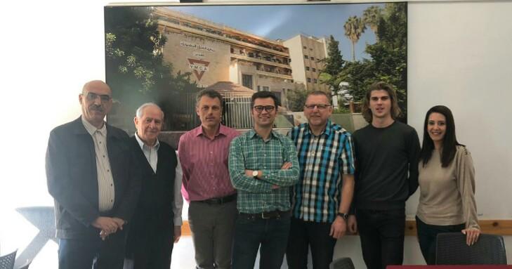 L'Alliance en visite à YMCA East Jerusalem