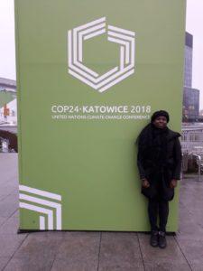 Emmanuelle, notre Change Agent à la COP24