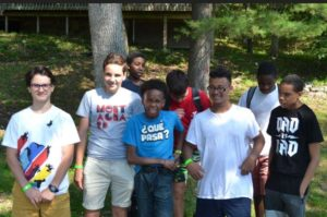 Summer camp YMCA aux USA