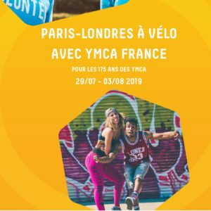 Brochure Paris-Londres à vélo avec les YMCA France