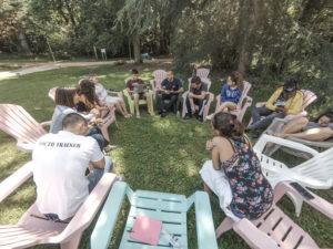 Travail de groupe sur les Summer camps
