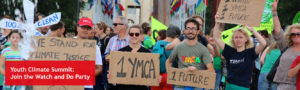 YMCA au Sommet de la jeunesse sur le climat des Nations Unies