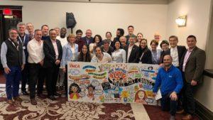 Réunion du Comité exécutif des YMCA Monde à Montréal