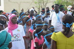 Enfants aux Sénégal YMCA