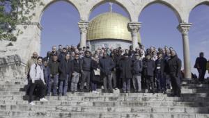 Réunion des Secrétaires Généraux monde YMCA en Palestine