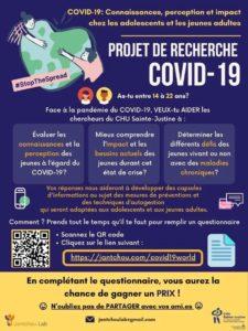 CHU Montréal étude covid19