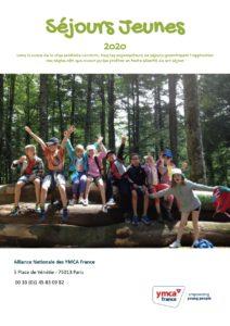 Brochure séjours jeunes 2020