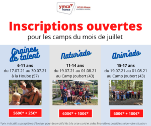 Séjours YMCA Alsace
